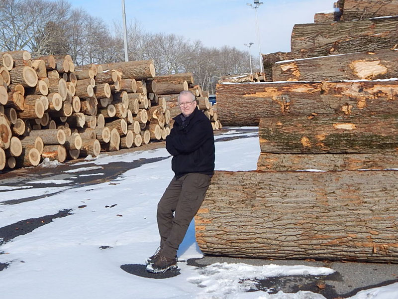Me With Logpile