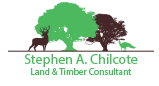 Stephen A. Chilcote Land & Timber Consulting Retina Logo